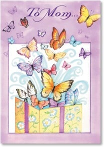 Birthday Card: You're a wonderful gift to my world! Deal