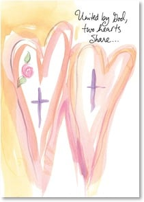 Anniversary Card: Love's gift of together, God's promise of forever. Deal